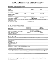 Fill In Resume Fill Out Resume Sugarflesh 14