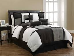 11pc pmr full black micro suede bedding set color burdy
