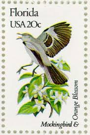 Image result for u.s. state bird stamps