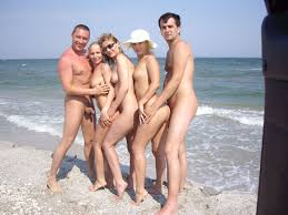 Russian couples families nude