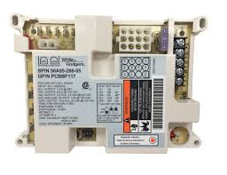 goodman furnace control board. this rf000129 ignition control board is a guaranteed genuine goodman oem replacement for several goodman, amana, and janitrol units. furnace