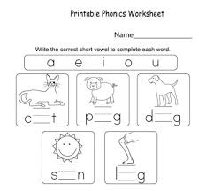 Are you looking for some fun ways to practice cvc words? Short Vowel Worksheet Worksheet