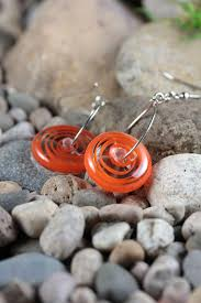 Effetre Color Chart Lampwork Dangle Earrings Soft Effetre Moretti Glass