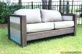 enchanting outdoor wood sofa planked wood rogue engineer outdoor wooden sofa uk