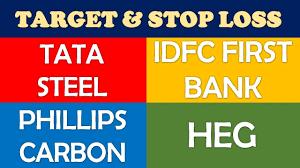 Tata Steel Idfc First Bank Phillips Carbon Heg Ltd Share Target Buy Multibagger Stocks 2019 India