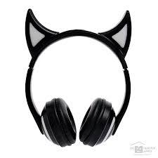 <b>Наушники</b>, микрофоны <b>Qumo Qumo Party</b> Cat BT 0024 [24093]