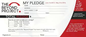 007 Template Ideas Donation Pledge Card Nurulamal Com Ulyssesroom