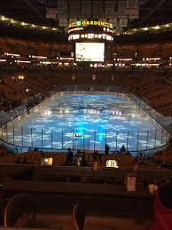 td garden section at t sports deck row c boston bruins vs columbus blue jackets shared by dphripp
