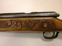 Gun Stock Carving Designs Pin On Relief Carved Art