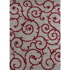 pleasurable ideas red and gray area rugs world rug gallery soft cozy contemporary scroll redgray grey shining home website black canada white light large
