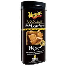 automotive gold class leather conditioner 25 wipes
