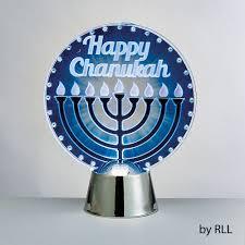 Light Up Hanukkah Necklace Chanukah Led Light Up Decoration Menorah