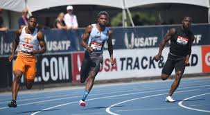 Noah Lyles, channeling <b>Dragon Ball</b> Z, gets rolling in 200-meter ...