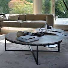 contemporary marble coffee table round