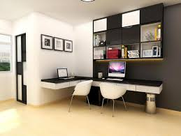 wall mounted desk hutch home office