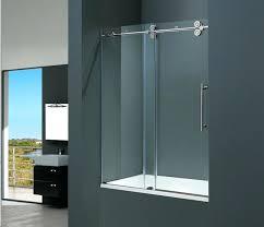 frosted glass sliding shower doors glass shower sliding doors frameless shower glass doors idea install frameless sliding glass shower doors