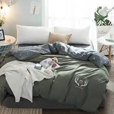 new high density pure cotton duvet cover bedding double single quilts cover in king queen size