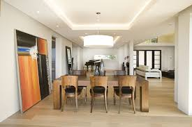 recessed lighting dining room. Cove Ceiling Design Dining Room Contemporary With Wall Art Leaning Mirror Recessed Lighting