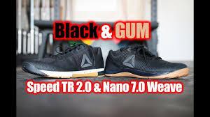 reebok nano 7 weave. reebok crossfit nano 7.0 weave/speed 2.0 black \u0026 gum first look/on feet 7 weave