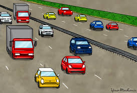 car driving on highway. Contemporary Driving Cars Driving Down They Highway Intended Car Driving On Highway S