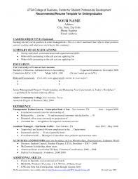 Resume Template For College Graduate Cover Letter College Graduate Resume Template Student Mit Format 9