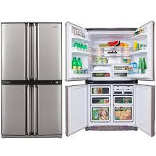 sharp refrigerator models. sharp-sjf676stsl-676-litre-refrigerator sharp refrigerator models