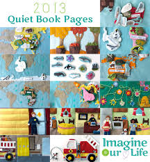 a year of quiet book pages 2018