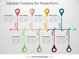 Timeline Ppt Slide Free Timelines Powerpoint Templates Presentationgo Timeline