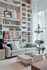 Bookshelves Living Room Simple I'm Not A Fan Of High Ceilings But I Love The Wall Of Shelves Idea