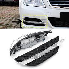 2013 Mercedes C250 Daytime Running Lights 2pcs Led Daytime Running Lights Drl Fog Lamp For Benz W204 C Class 11 13