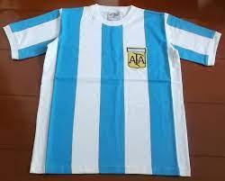 เสื้อฟุตบอล อาร์เจนติน่า เสื้อบอล ทีมชาติ Retro ชุดเหย้า ชุดลุยศึกฟุตบอลโลก  1978 ใหม่ M-Size - FTLs  จำหน่ายสินค้าและของที่ระลึกเกี่ยวกับฟุตบอลและประเทศไทย อาทิ เสื้อบอล,  ตุ๊กตาโมเดลนักฟุตบอล, ของที่ระลึกฟุตบอล ทั้งไทยและต่างประเทศ ของแท้ 100%  ลิขสิทธิ์ ...