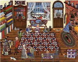 the quilt shop | quilt ill. = Judy Wickersham Schauermann | Pinterest &  Adamdwight.com