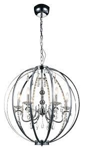 chrome cage chandelier chandelier light bulb changer