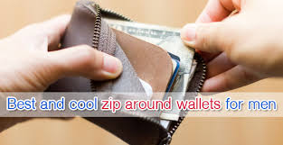 Best And Cool <b>Zip</b> Around Wallets For <b>Men</b> (Updated 2019 ...
