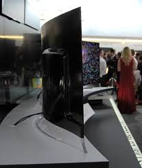 lg curved oled tv. lg stuns ces crowd with world\u0027s first curved 3d oled tv lg oled tv