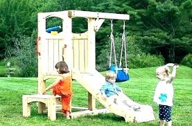 swing sets covers wooden used set for accessories indoor backyard metal on garden canopy