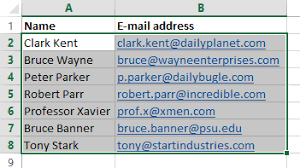 Creating A Distribution List From An Excel Document Msoutlook Info