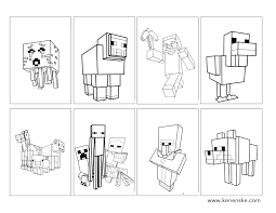 Small Picture Jessica Kenenske Minecraft Party with free printables