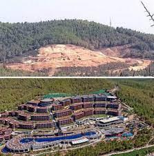 2007'de Yanan Alana İnşa Edilmişti: Alevler Bodrum'daki O Oteli Sardı -  onedio.com
