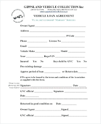 Business Loan Document Template