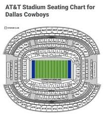 Dallas Cowboys Seating Chart Details About 2 Tickets Tampa Bay At Dallas Cowboys 8 29 Sec 421 Row 1 Seats 1 2 Front Aisle