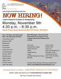 jobs utah ski resort utah hotel jobs hotel employment openings services management positions