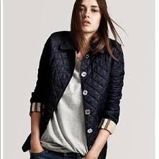 Women's Blue Burberry Quilted Jacket on Poshmark & Authentic Burberry Navy Quilted Jacket Adamdwight.com