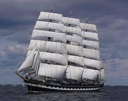 Судно Википедия Барк Крузенштерн современное парусное учебное судно