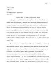 family narrative essay a personal narrative of my family kibin