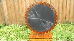 Homemade Wooden Games Homemade wooden game wheel YouTube 11