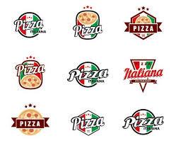 Italian Logos Italy Pizza Logos Vector Free Download