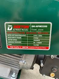 máy xịt rửa xe cao áp DEKTON 2350w... - Máy Bơm Hơi Shark