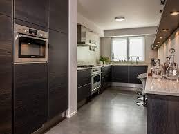 Keuken In Donker Hout Fineer Werkblad In Composiet Made By Het