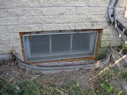 Exellent Basement Windows Exterior Window Wells Ideas W To Concept Design